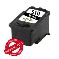 Tête d'impression recyclée Canon - PG-510Bk - Encre Noire - 12ml