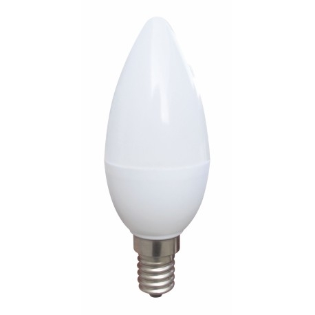 Ampoule Led E14 Bougie - 4 Watts - 2800K - non-dimmable - 320Lm - Blanc chaud