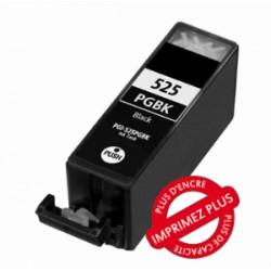 Cartouche compatible Canon - C-525Bk - Avec puce - Encre Noire - 21ml