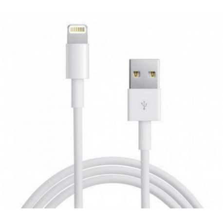 Cordon USB HQ - chargement/synchronisation USB / iPhone 5/6 - iPad Mini - New iPad - 1m