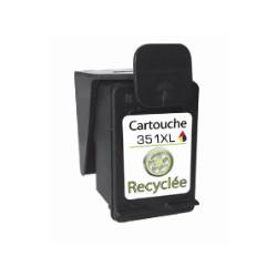 Cartouche recyclée N°351XL - Encre 3 couleurs - 21ml