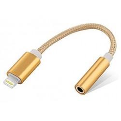 Adaptateur Lightning Mâle / jack 3,5mm pour iPhone