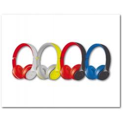 """Casque stéréo sans fil Bluetooth - FB-0915 - Ass de couleurs - """"PLATINET"""""""