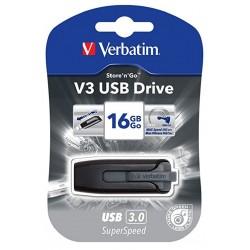 """Clé USB Store&Go - V3 USB 3.0 - """"VERBATIM"""" - 8 Go - 49171"""