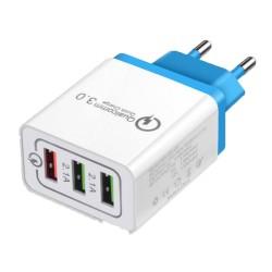 Chargeur USB secteur -  2 ports USB - 1 x 1A + 1 x 2.1A