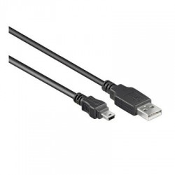 Cordon Mini USB 2.0 type AM/ B Mini M (5-pin) - 3.00m