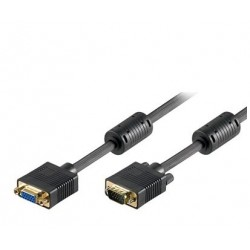 Rallonge PC/Moniteur/LCD&Plasma - HD 15 Femelle / HD 15 Mâle - 5.00m