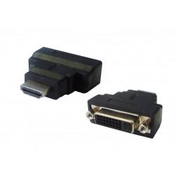 Adaptateur numérique DVI / HDMI - DVI-D 24+1 Femelle / HDMI Mâle