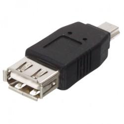 Adaptateur USB / Micro USB - USB A Femelle / Micro USB Mâle