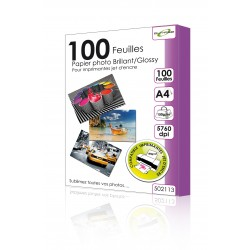 "100 Feuilles Papier photo brillant/Glossy 150g - A4 - ""ELYPSE"""