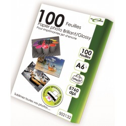 "100 Feuilles Papier Photo brillant/Glossy 220g - A6 - ""ELYPSE"""