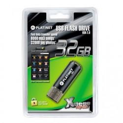 "Stick USB 2.0 - X-DEPO - ""PLATINET"" - 32 Go"