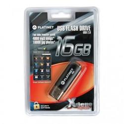 """Stick USB 2.0 - X-DEPO - """"PLATINET"""" - 16 Go - Assortiment de couleurs"""