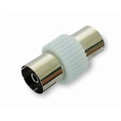 Adaptateur antenne TV/Sat - 9,5mm Femelle / 9,5mm Femelle