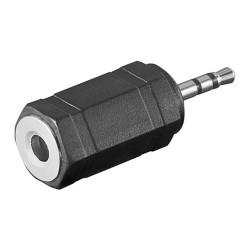 Adaptateur Jack 3.5mm Stéréo Femelle / 2,5mm Stéréo Mâle