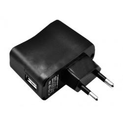 Chargeur USB secteur -  1 port USB - 1x1000mAh
