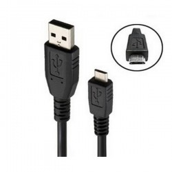 Cordon USB chargement/synchronisation / Androïd Micro USB - 1m